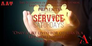 Service Saturdays